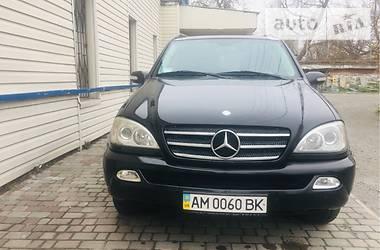 Mercedes-Benz ML 270 2005 в Новограде-Волынском