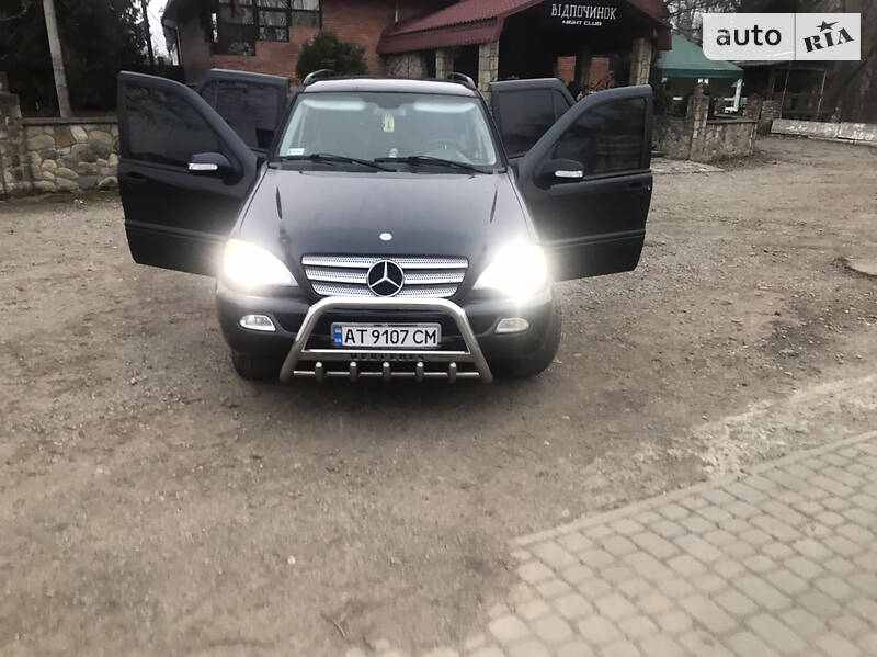 Mercedes-Benz ML 270 2001 в Яремчі