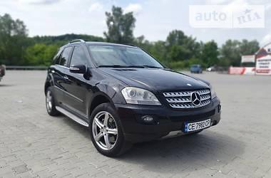 Внедорожник / Кроссовер Mercedes-Benz ML 280 2008 в Черновцах