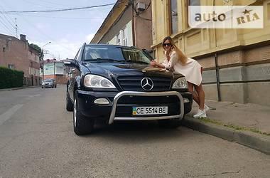 Mercedes-Benz ML 320 2002 в Черновцах