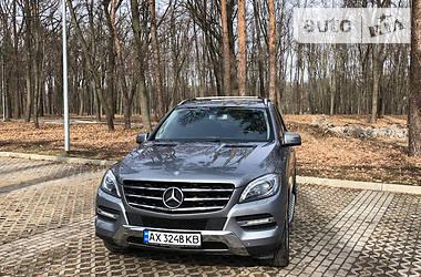 Внедорожник / Кроссовер Mercedes-Benz ML 350 2012 в Харькове