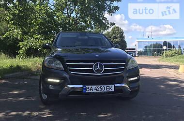 Позашляховик / Кросовер Mercedes-Benz ML 350 2013 в Кропивницькому