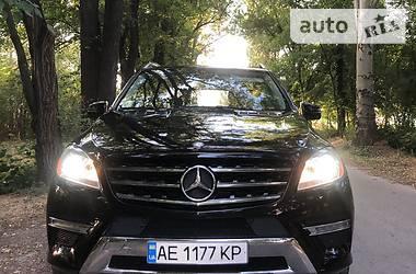 Позашляховик / Кросовер Mercedes-Benz ML 350 2013 в Кам'янському
