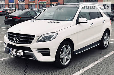 Mercedes-Benz ML 400 2015 в Львове