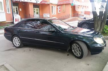 Mercedes-Benz S 320 2003 в Тернополе