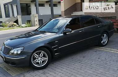 Mercedes-Benz S 320 2001 в Хусте