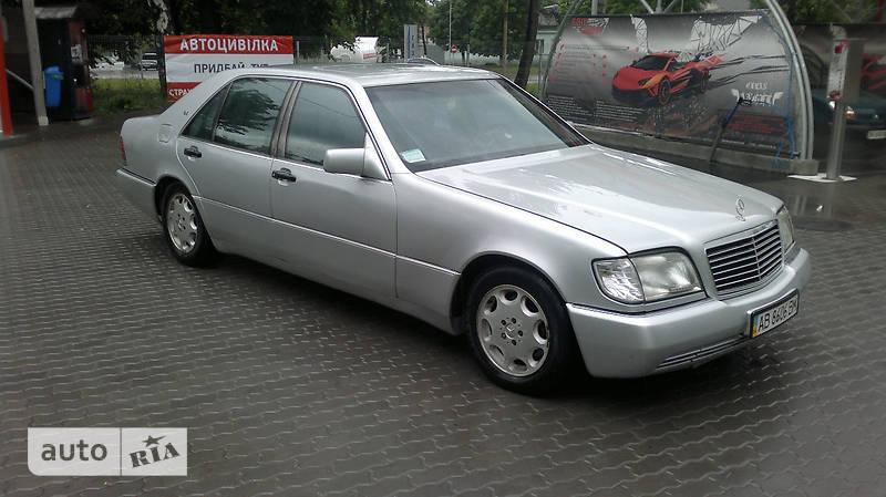 Mercedes-Benz S 420 1994 в Львове