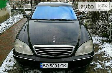 Mercedes-Benz S 430 2000 в Тернополе