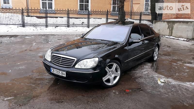 Mercedes S-Class 2003 року в Києві
