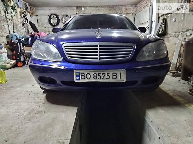 Седан Mercedes-Benz S 500 2000 в Підволочиську