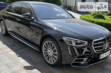 Седан Mercedes-Benz S 500 2021 в Києві