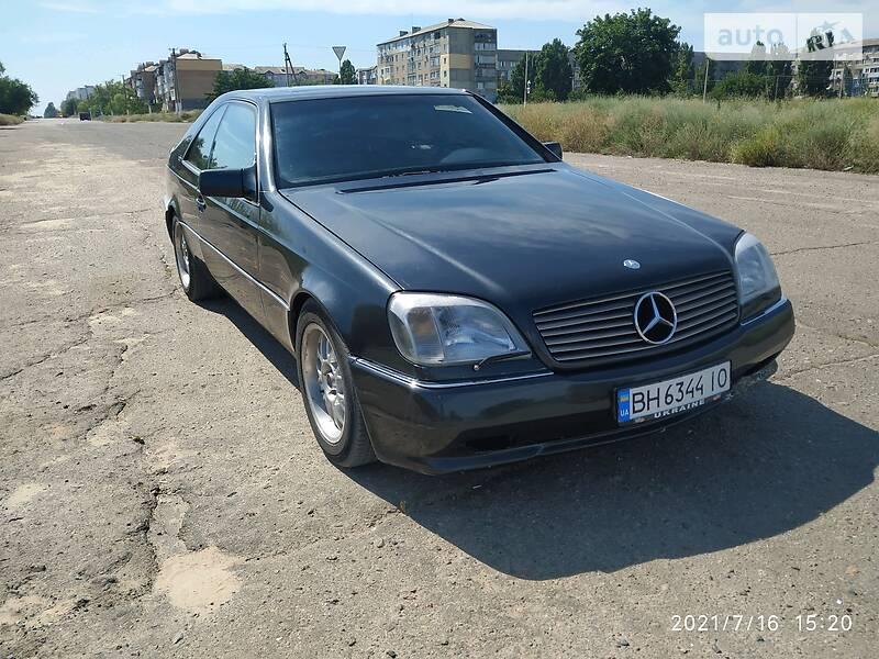 Купе Mercedes-Benz S 600 1993 в Белгороде-Днестровском