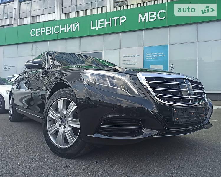 Седан Mercedes-Benz S 600 2015 в Киеве