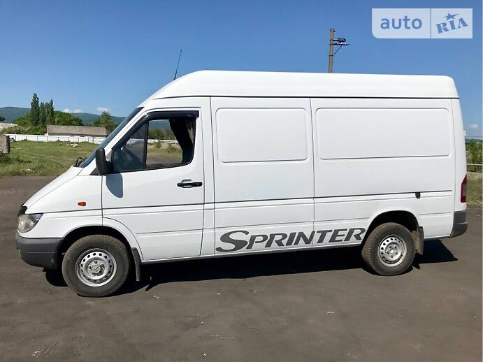 Mercedes-Benz Sprinter 313 груз. 2001 в Иршаве