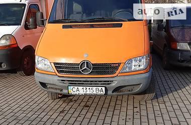 Микроавтобус грузовой (до 3,5т) Mercedes-Benz Sprinter 416 груз. 2005 в Черновцах