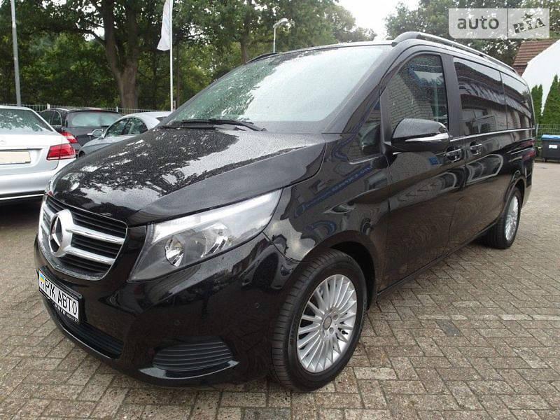 Mercedes-Benz V 220 CDI Lang 4MATIC AT