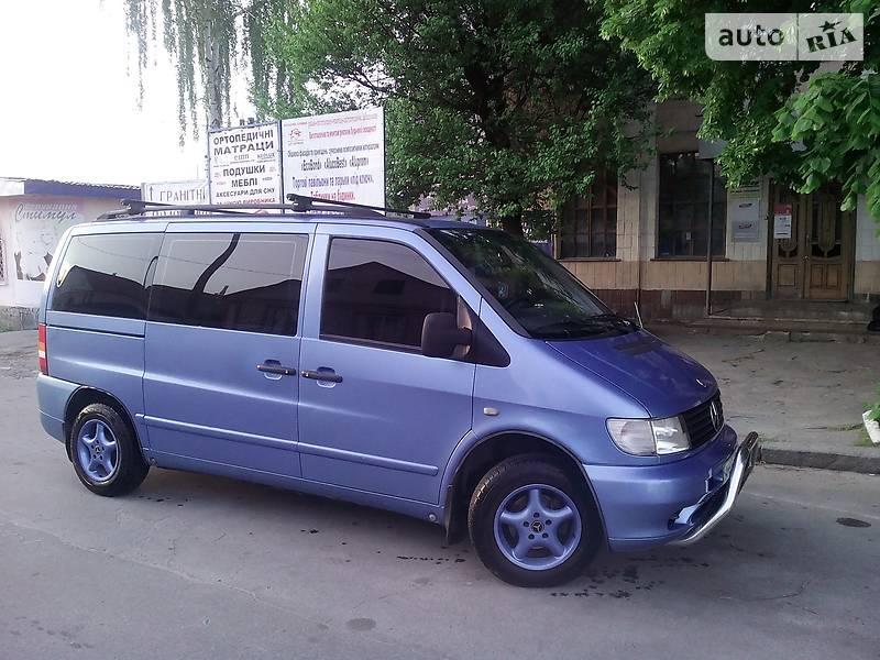 Mercedes-Benz Vito пасс. 2001 в Новограде-Волынском