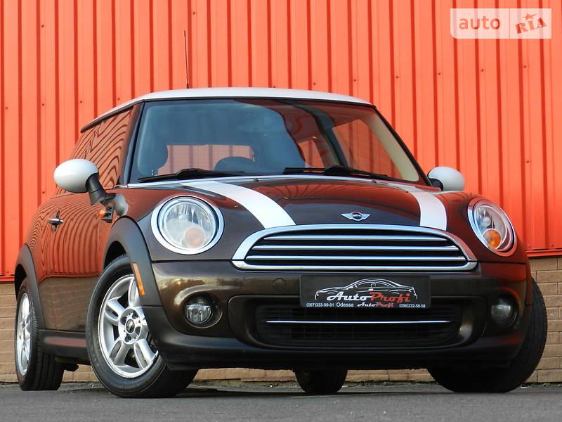 Mini Cooper 2013 года
