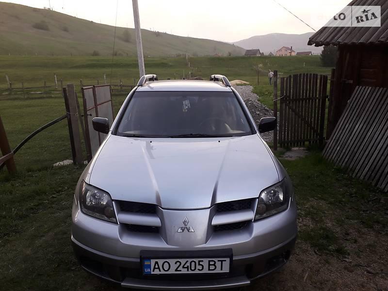 Mitsubishi Outlander 2003 в Ужгороді
