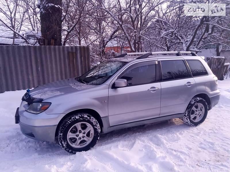 AUTO.RIA – Продам Митсубиси Аутлендер 2004 : 7400$, Конотоп