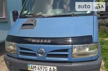 Микроавтобус грузовой (до 3,5т) Nissan Interstar 2003 в Любаре
