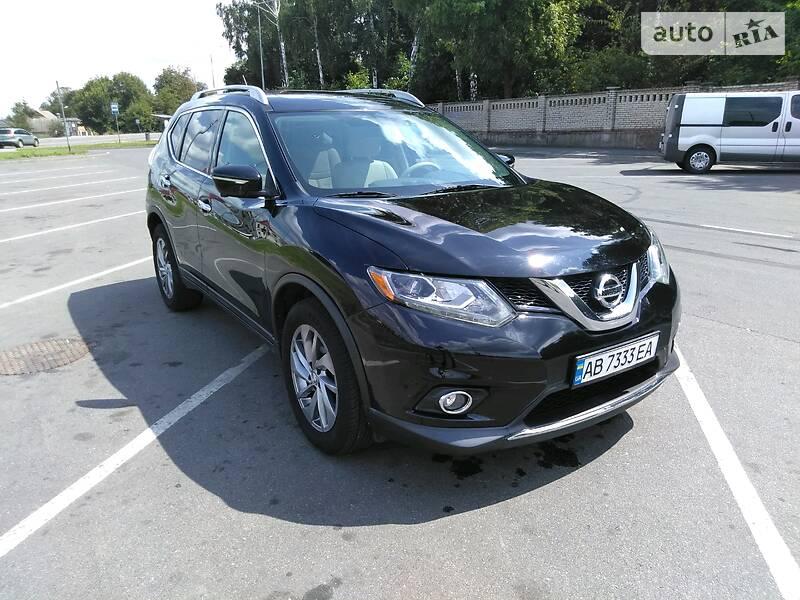 Позашляховик / Кросовер Nissan Rogue 2015 в Вінниці