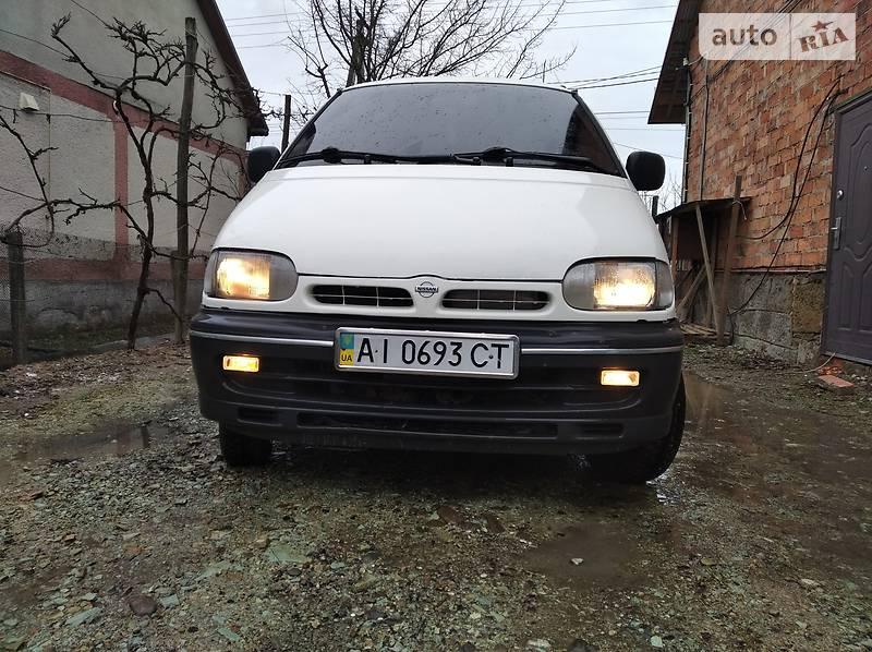 Мінівен Nissan Vanette груз.-пасс. 1996 в Хусті