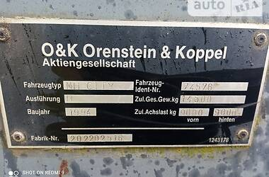 Колесный экскаватор O&K MH 1994 в Ковеле