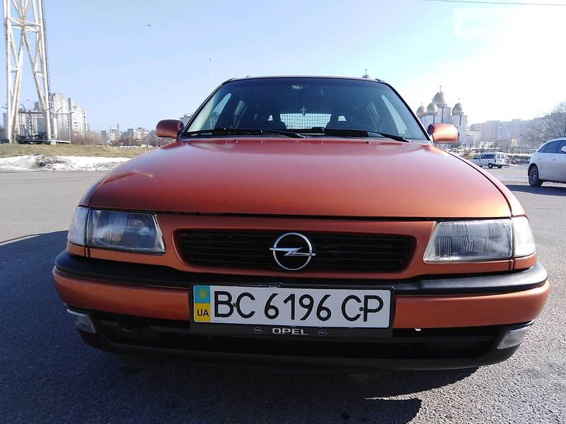 Унiверсал Opel Astra F 1997 в Львові