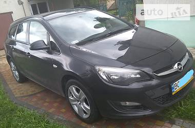 Opel Astra J 1.4Т МТ