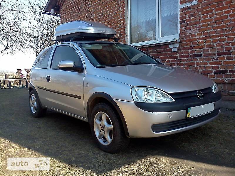 Opel Corsa 2001 в Львове