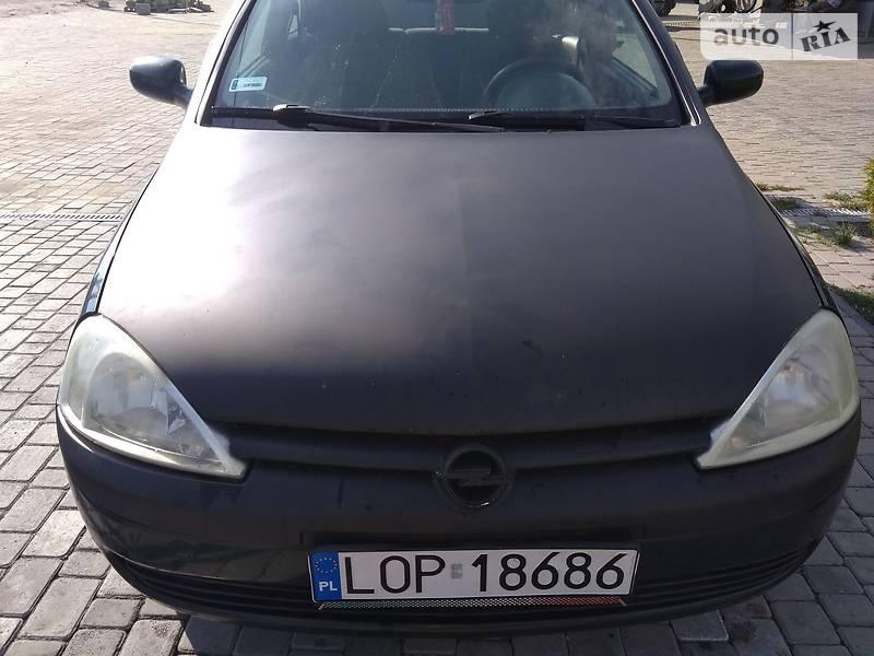 Opel Corsa 2001 року в Луцьку