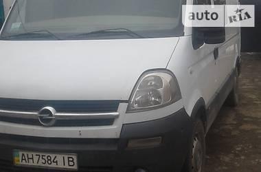 Opel Movano пасс. 2003 в Донецке