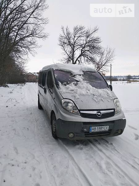 Opel Vivaro пасс. 2013 года в Виннице