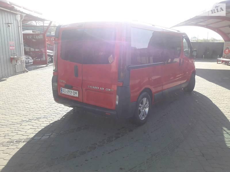Opel Vivaro пасс. 2005 в Рахове