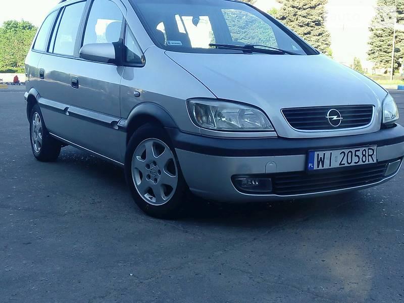Opel Zafira 2001 в Краматорске