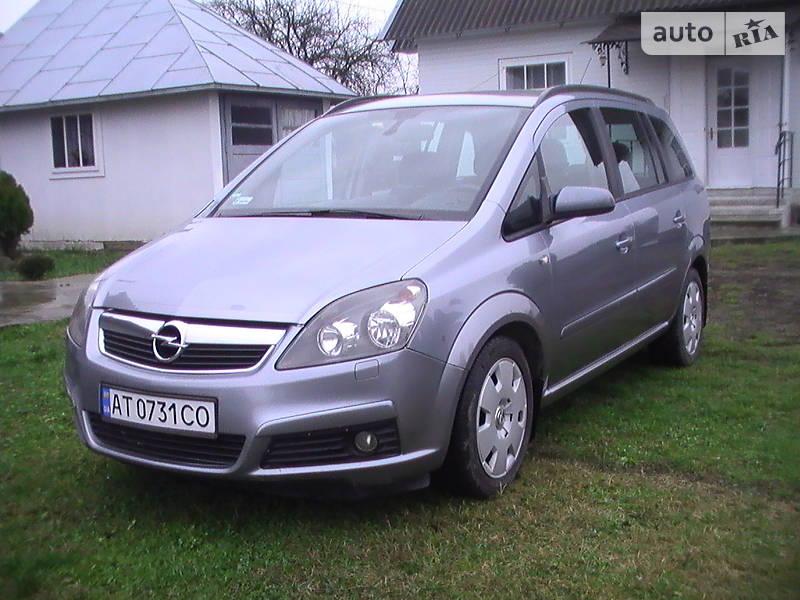 Opel Zafira 2006 в Косове