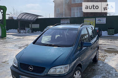 Унiверсал Opel Zafira 2001 в Хмельницькому