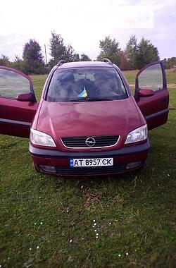 Унiверсал Opel Zafira 1999 в Івано-Франківську