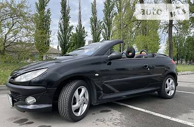Кабриолет Peugeot 206 СС 2003 в Киеве