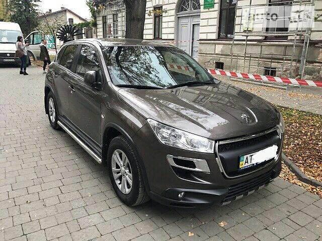 Peugeot 4008 офіційна
