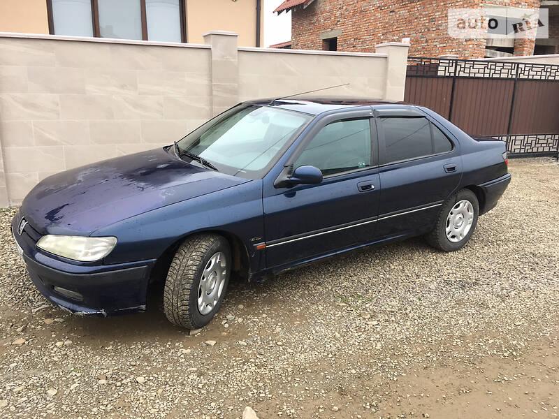 Седан Peugeot 406 1997 в Виноградові