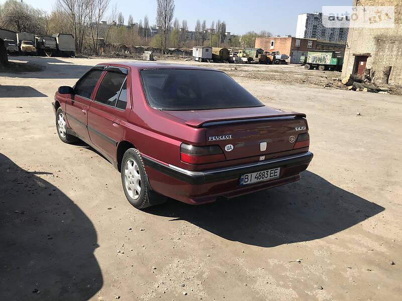Седан Peugeot 605 1995 в Києві