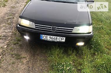 Седан Peugeot 605 1992 в Сторожинце