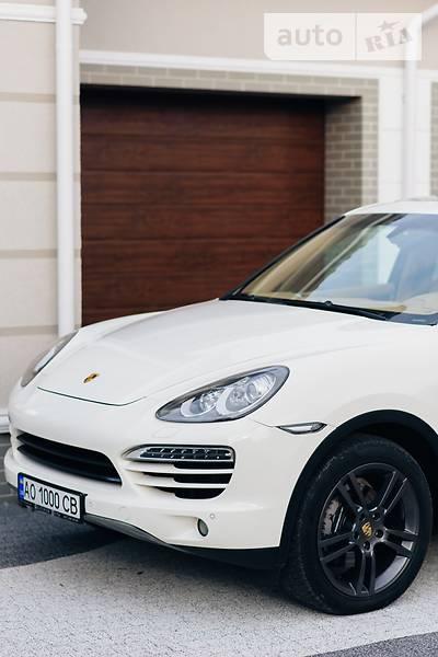 Porsche Cayenne 2011 года
