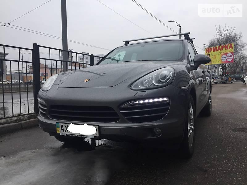 Porsche Cayenne 2012 года