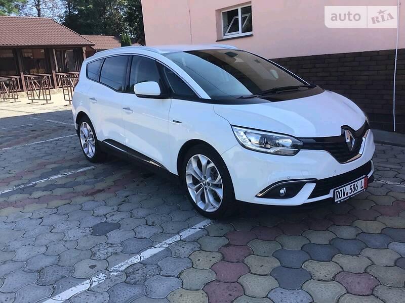 Renault Grand Scenic 2017 в Черновцах