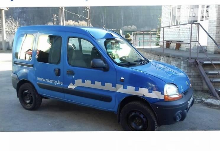 Renault Kangoo пасс. 2002 в Сколе