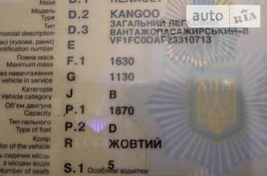 Renault Kangoo пасс. 2000 в Днепре