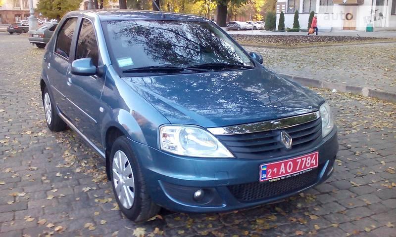 Renault Logan 2010 в Купянске